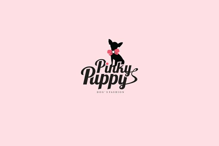 Pinky Puppy logo design by @Dekoratio Brand Studio