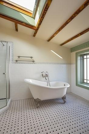 Incredible Ceiling Height In This Bathroom Brownstone