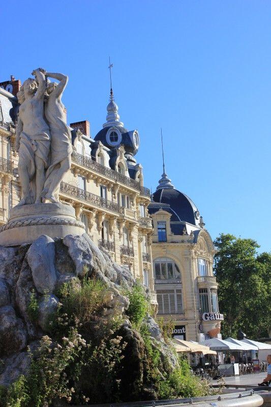 Place de la Comédie, Montpellier, France @}-,-;—