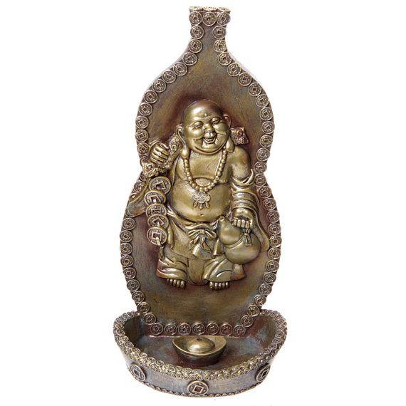 Decorative Buddha Incense Holder Wall Ornament by getgiftideas