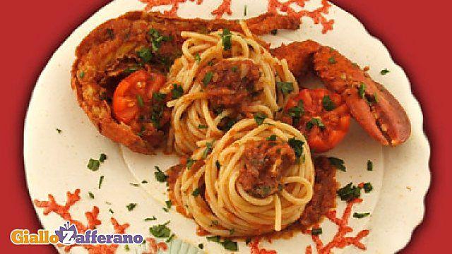 Ricetta Spaghetti con astice in bellavista - Le Ricette di GialloZafferano.it