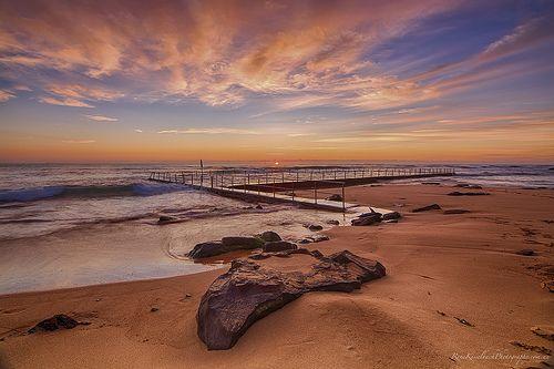Sunrise at Newport