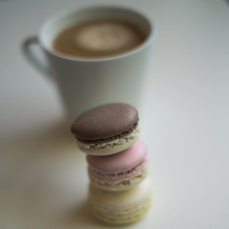 Time to fuel up! #CoffeeOclock  #macarons #cappuccino #coffee #barista #coffeehouse