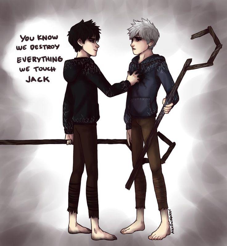 Dark Jack vs. Jack Frost