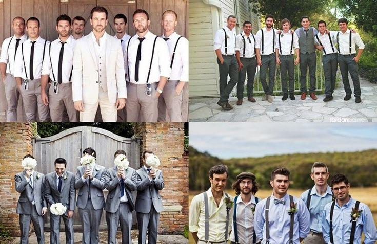 7 ideias irreverentes de trajes para os padrinhos | As Lembrancinhas de Casamento