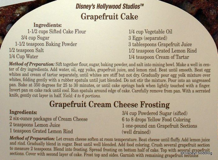 One of my favorite desserts from the Hollywood Brown Derby at Disney's Hollywood Studios.