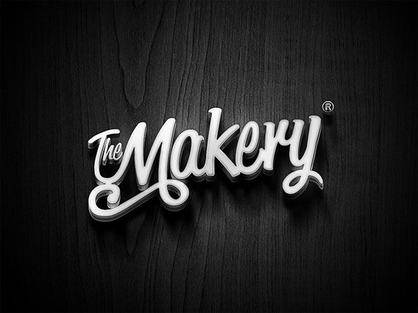 Classy Brand Design. Singapore-based freelance designer David Goh was part of the creative team thant developed this classy brand identity for The Makery,.