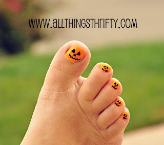 Halloween Nail Designs, All Things Girlie!
