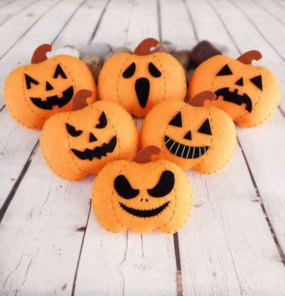 Pumpkin Halloween Decorations Jack O Lantern Halloween Gift Baby Shower Favors…