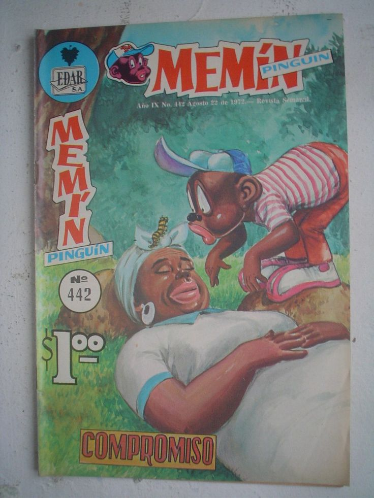 Revistas Mexicanas Comics De Amor | Comic Revista Memin Pinguin Nº442 De 1972