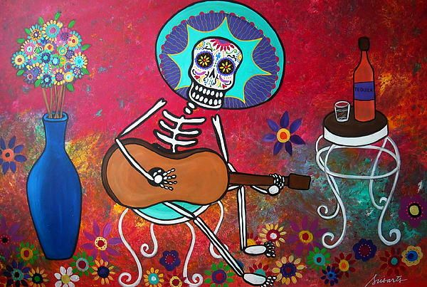 Mariachi Serenata Mexican Tequila Painting, WHIMSICAL SUN MOON SOL LUNS BUWAN ARAW PRISARTS PRISTINE CARTERA TURKUS TREE LIFE FOLK ARTIST ART PAINTING ORIGINAL SPECIAL GIFT MOTHER FATHER BROTHER SISTER FRIEND TEACHER CO-WORKER PROFESSOR STUDENT NURSE DOCTOR BESTFRIEND LOVE LOVERS COUPLE WEDDING ANNIVERSARY BIRTHDAY CHRISTMAS THANKSGIVING THANK YOU GRADUATE GRADUATION COOL GIFT FOR SALE