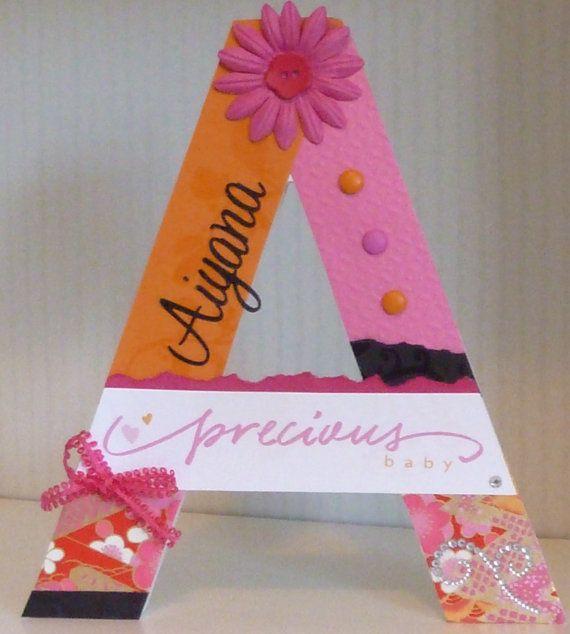 Nursery+letters+custom+initials+Custom+wooden+by+SpendLifeLiving,+$40.00 www.facebook.com/howtoSpendLifeLiving