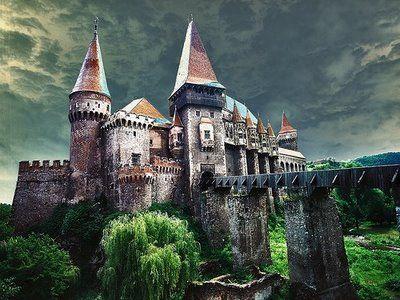 The Castle in the Carpathians.