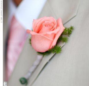 White Garden Rose Boutonniere 76 best pink rose boutonniere images on pinterest | boutonnieres
