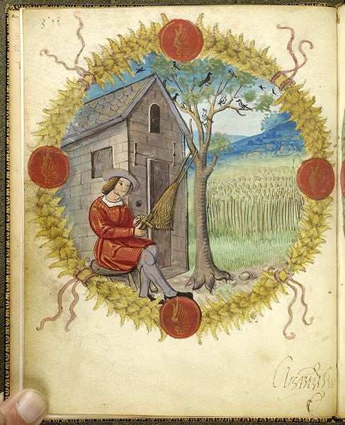 Fables and other poems, MS M.422 fol. 2v - Images from Medieval and Renaissance Manuscripts - The Morgan Library & Museum