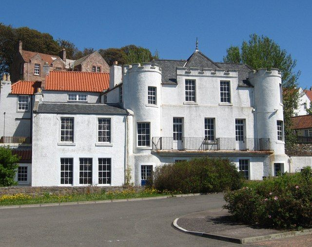 Magnificent old building at West Wemyss in Fife by Liz 'n' Jim, via Geograph