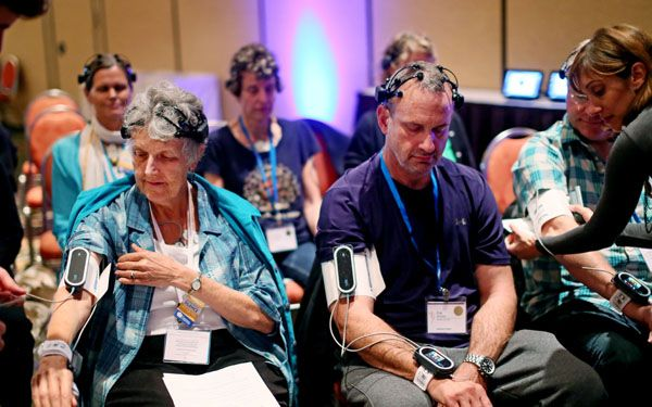 Dr. Eric Topol & Dr. Deepak Chopra, one of the most prominent voices in alternative medicine, are teaming up to measure the effects of meditation with digital health devices.
