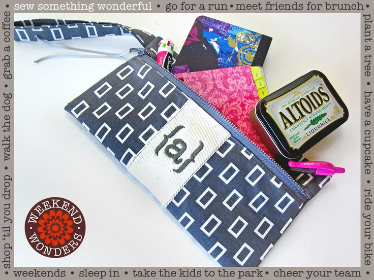 how to make a pencil pouch without sewing