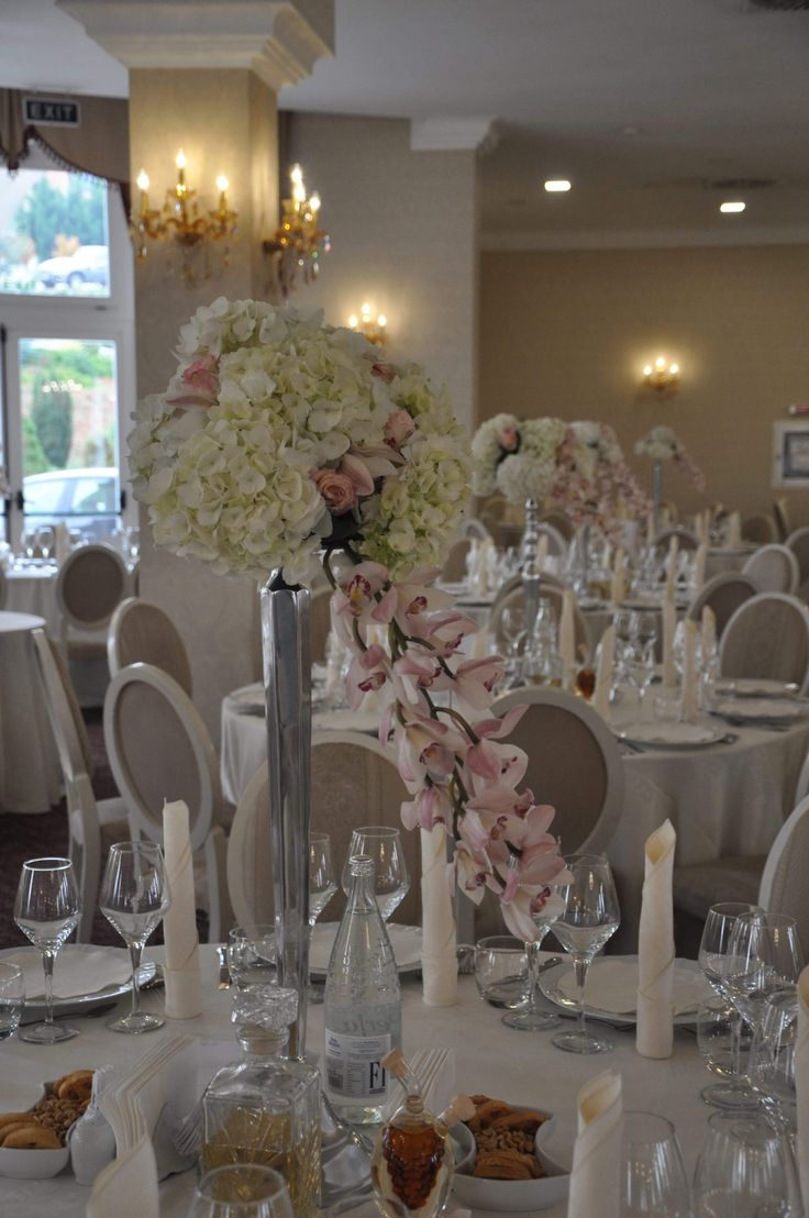 Luxury flowers on luxury wedding
