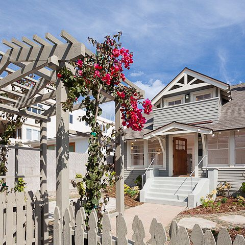 Fully Realized Santa Monica Craftsman For Lease 5BD 3BA 3100sf 12950mo Close To