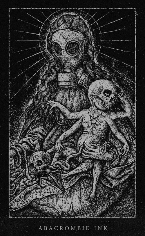 Madona and the Devil's Child by Hugo Silva, via Behance