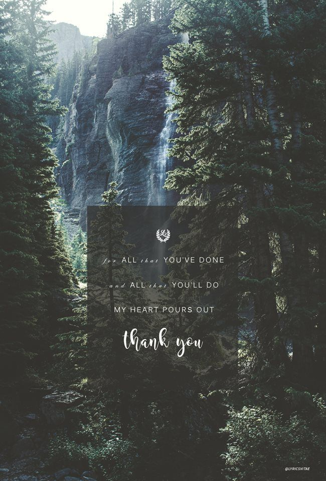 """Thank You"" by Jonathan David Helser // Phone screen wallpaper format // Like us on Facebook www.facebook.com/worshipwallpapers // Follow us on Instagram @worshipwallpapers"