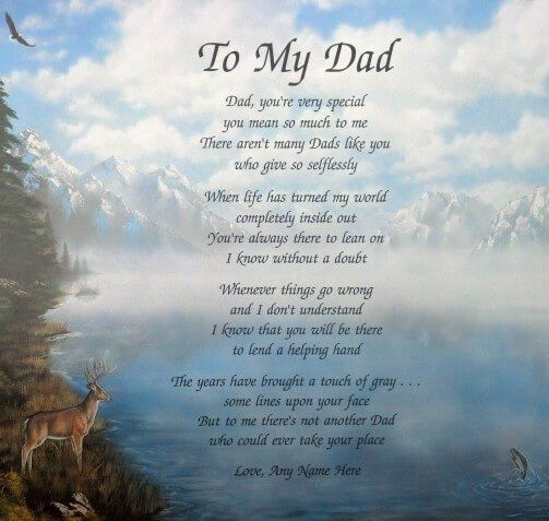 Best 25+ Short Fathers Day Poems Ideas On Pinterest