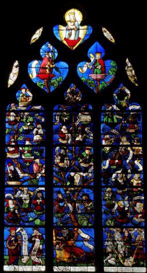 Baie 16 L'arbre de Jessé - église de Pont-Ste-Marie (10)