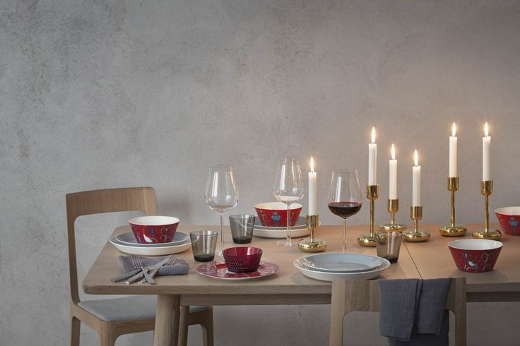 Iittala, Christmas 2013 dining table