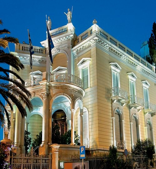 GREECE CHANNEL | The Mansion Stathatos, Museum of Cycladic Art, Athens #famfinfer