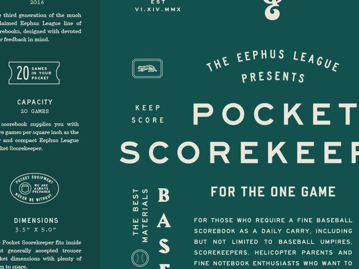 Pocket Scorekeeper