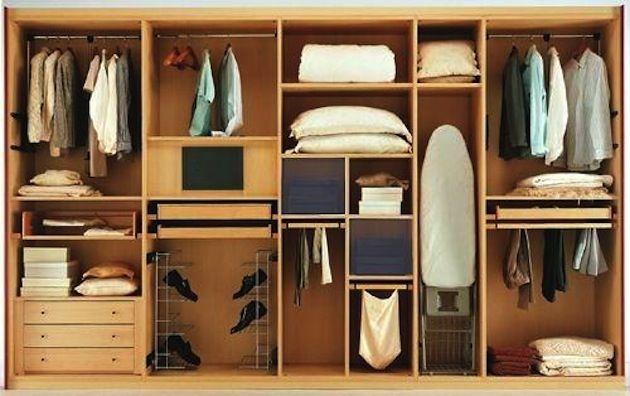 Правильное наполнение шкафа