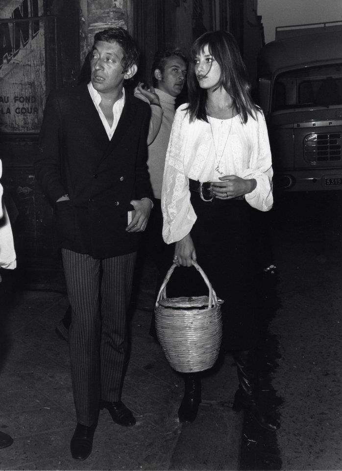so many pictures of Jane and Serge together.... maybe I should do a Couples Style board, hm?