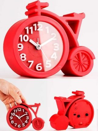 Bisiklet Formunda Masaüstü saat