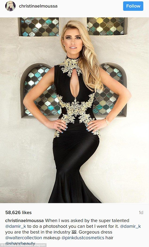 Ready for the Emmys! Christina El Moussa looked glammed up in this post shared Sunday...