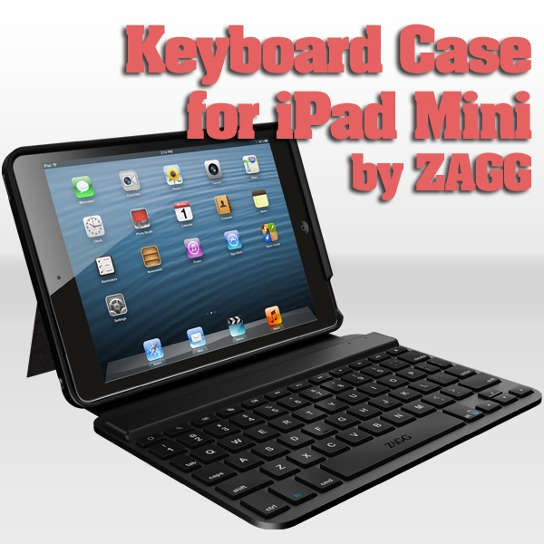ZAGGkeys MINI 7 for iPad mini - pinned for sweepstakes entry www.zagg.com/community/contest.php. I do like their screen protector and they have well designed products