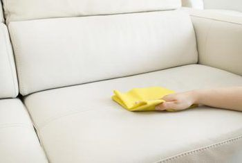Natural cleaners for light upholstery