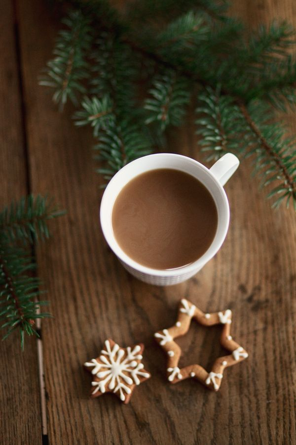 .Christmas coffee