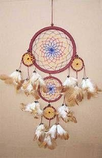 Native American 8in Dream Catcher