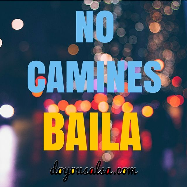 ¿Aún caminas cuando puedes estar #bailando ? TAGUEA a aquellos que les ENCANTA  #bailar! #doyousalsa #salsa #salseros #bailarsalsa