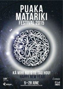 A month long celebration of Matariki from the rising of Puaka on 6th June. Flax weaving, poi making, story telling Ground Floor of Dunedin City Library and activities at all Dunedin Libraries. Pick up a programme at your local library for details.