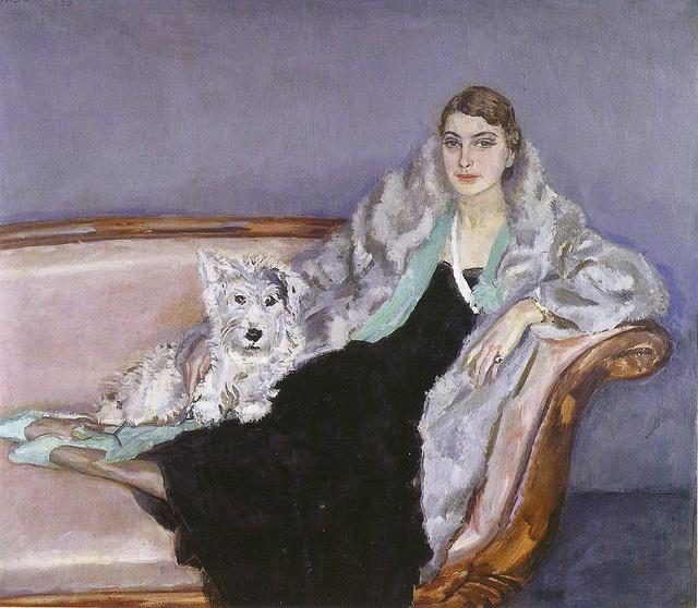 Sluijters, Jan (Dutch, 1881-1957) - Portrait of Ina van Bladeren - 1932
