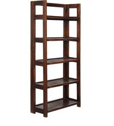 Havana Solid Wood Book Shelf in Provincial Teak finish by Woodsworth