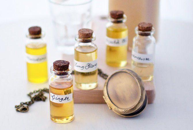 Faça seu próprio Perfume natural