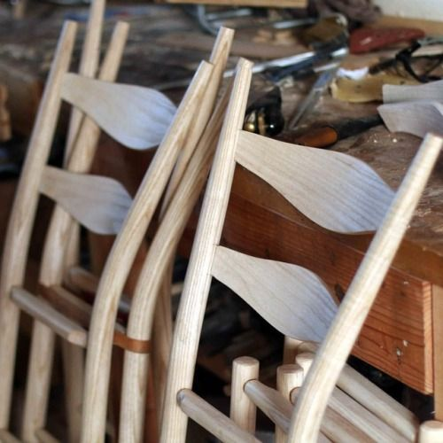 Im currently making 5 ladderback bar chair for a...