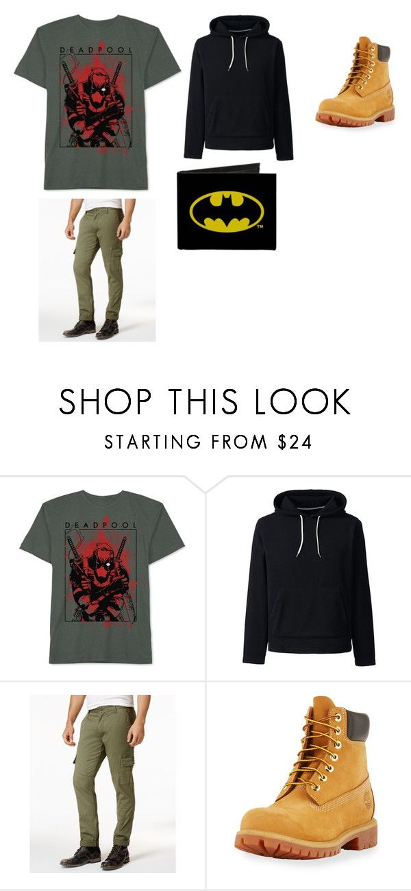 """""""Tyers casual attire"""" by cass-is-fangirling on Polyvore featuring JEM, Lands' End, American Rag Cie, Timberland, men's fashion and menswear"""