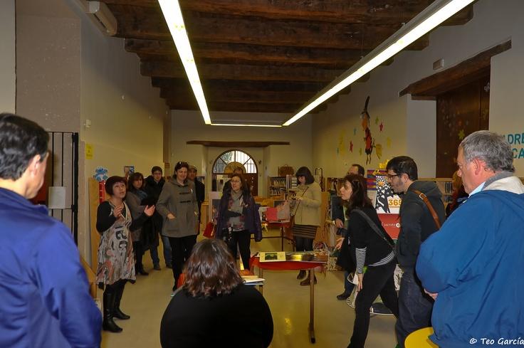 4ª Bibliocata: en la Biblioteca Pública de Olmedo (Valladolid, España)