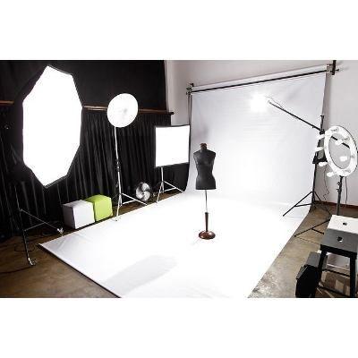 Tecido Fundo Infinito 3x7 Estudio Fotografico Fotografo Foto - R$ 138,99