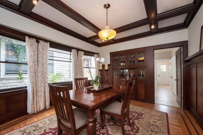 193 Best 1920s Dining Room Images On Pinterest Craftsman Dining Room Dining Rooms And