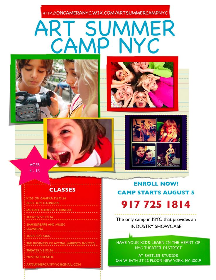 Best Prc Summer Camp Flyer Images On   Flyers